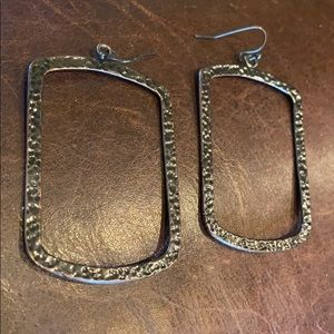 NEW Hammered Bronze Earrings